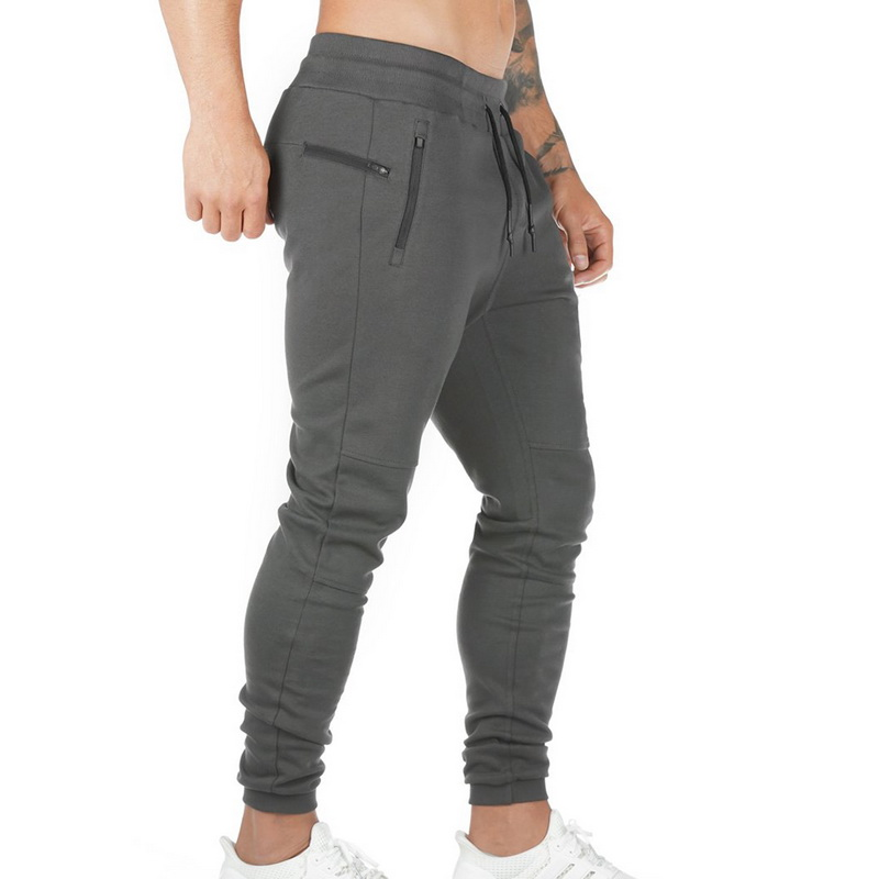 Oeak Men Fitness Jogger Pants 2019 New Solid Color Multi-pockets Harem Pants Male Gym Running Casual Loose Breathable Sweatpants