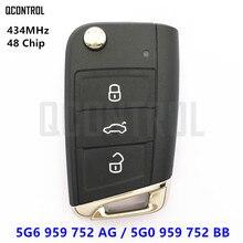 Qcontrol удаленный ключевой 5G6 959 752 AG/5G6959752AG для VW/Volkswagen MQB Golf VII 7 MK7 автомобиля 5G0959752BB 5G0 959 752 BB