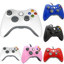 2016 Новый Высокое Качество Горячей Продажи Для Micro Soft Xbox 360 USB Проводная Game Pad Slim PC Joypad Контроллер