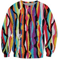 Что Лань Crewneck Толстовка хип-хоп Biggie Smalls уютные Толстовки Красочный Мода Одежда Женщины Мужчины Повседневная топы Jumper