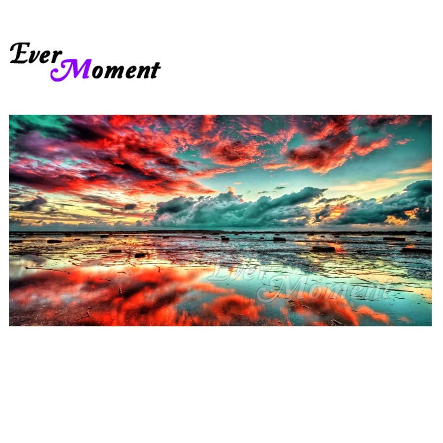 Ever Moment Scenery Cloud Diamond Painting 5D DIY Full Square Drill Pictire Mosaic Diamond Embroidery Decor Home S2F1428Ever Moment Scenery Cloud Diamond Painting 5D DIY Full Square Drill Pictire Mosaic Diamond Embroidery Decor Home S2F1428