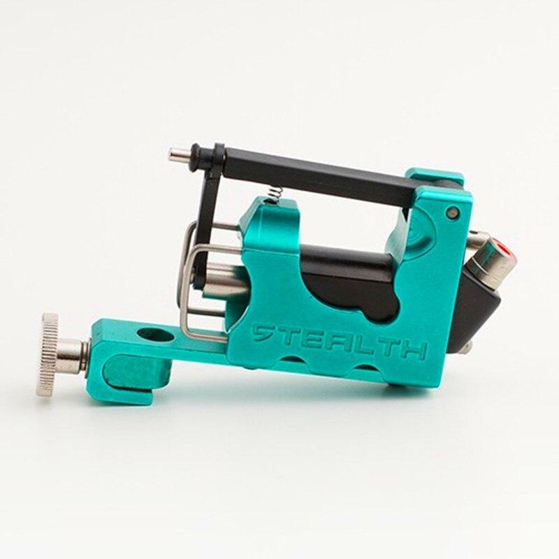 Machine rotatoire de tatouage de la furtivité 2.0 d'alliage de couleur verte pour le Shader de revêtement avec la boîte a placé la livraison gratuite
