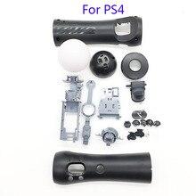 جديد ل PS4 VR somatosensory لعبة الحق مقبض ملحق ل PS نقل VR الحق مقبض قذيفة VR مقبض زر من الصدف