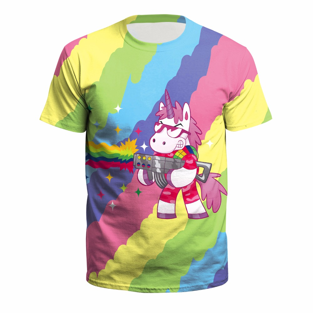 Ferocious Unicorn T-shirt