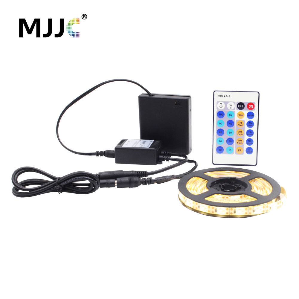 Dimmable Battery Operated Led Strip Light Waterproof 5v
