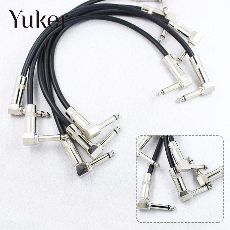 bass guitar effect pedal patch connect cable plug audio amp string in guitar parts. Black Bedroom Furniture Sets. Home Design Ideas