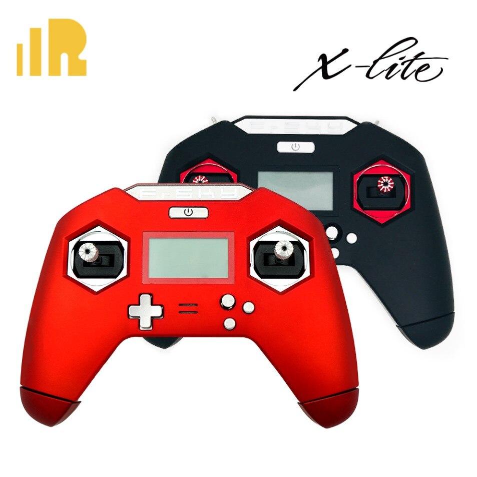 Oyuncaklar ve Hobi Ürünleri'ten Parçalar ve Aksesuarlar'de FrSky Taranis X LITE X Lite El verici 2.4 GHz ACCST 16CH RC Verici Kırmızı Siyah RC Yarış Drone'da  Grup 1