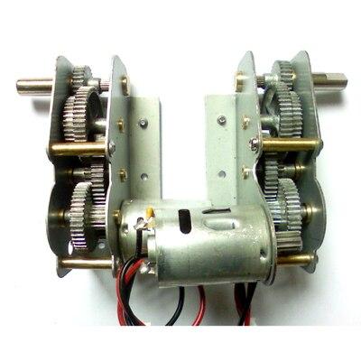 henglong 3838 3839 3878 3889 3909 ect 1/16 RC tank parts metal drive system/metal gear box free shipping