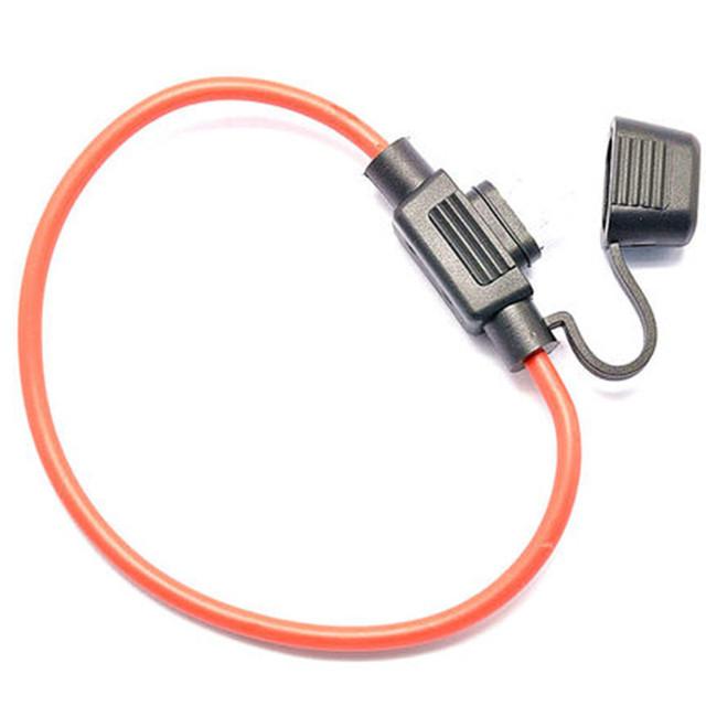 Waterproof 16AWG Micro Mini Standard fuse holder Medium Auto Fuse Holder Fuse Inserts 2A 3A 5A 7.5A 10A 15A 20A 25A 30A 35A