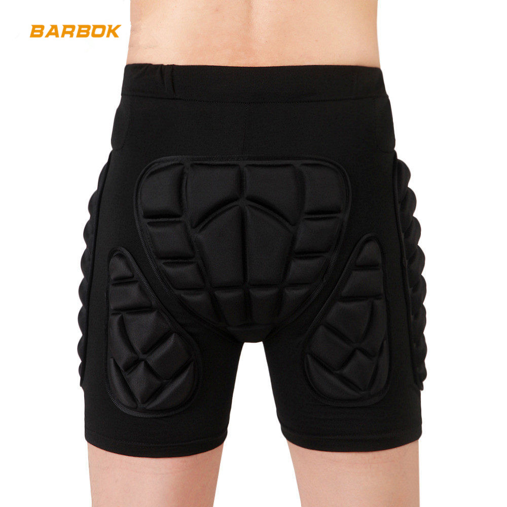 WOSAWE Unisex Motorcycle <font><b>Shorts</b></font> Ski Snowboard Protective Gear Hip Butt Pad <font><b>Sports</b></font> MTB Bike Armor Motocross <font><b>Shorts</b></font> Protection image