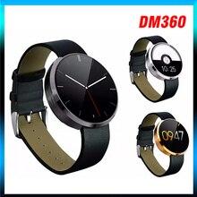 20 teile/los emfo DM360 Bluetooth Smart Uhr Herzfrequenz Überwachung Armbanduhr Smartwatch für Apple iOS Android Telefon