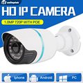 1.0MP HD 720P CCTV POE IP Camera Outdoor Night Vision IR 3.6mm Lens Home Surveillance Camera Security iPhone Android P2P View