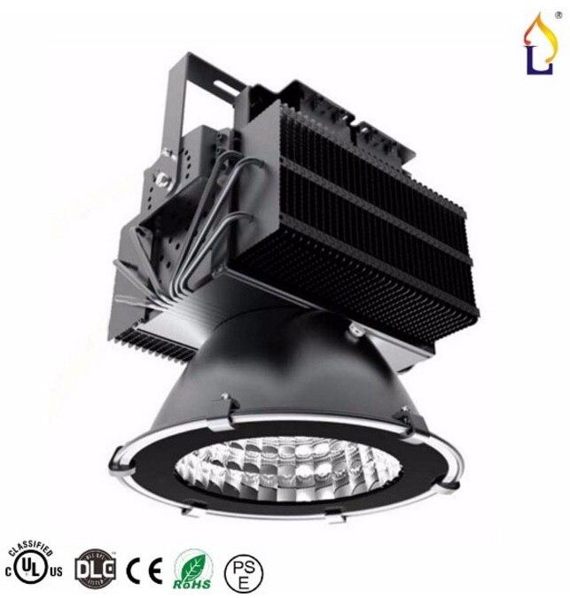 2 pcs/lot UL DLC 300 W 400 W lumière LED haute baie imperméable à l'eau Pier stade de basket-ball terrain de Football éclairage extérieur projecteur