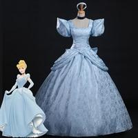 Cinderella Cosplay costume dress Cosplay costume adult women Halloween Cinderella costume cosplay Princess Cinderella dress hot