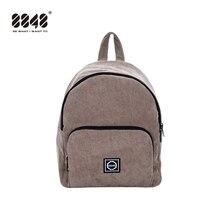 купить 8848 Women Backpack Youth Small Solid Casual Backpacks Students School Bag Teenage Girls Vintage Cute Bags Rucksack Mochila 007 дешево