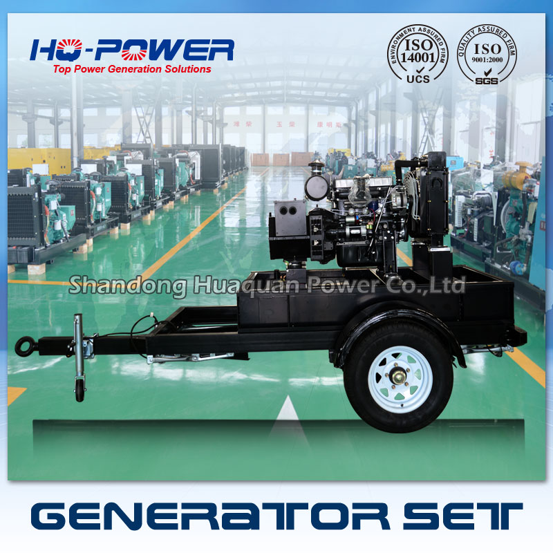 trailer 15kw portable diesel generator for sale philippines