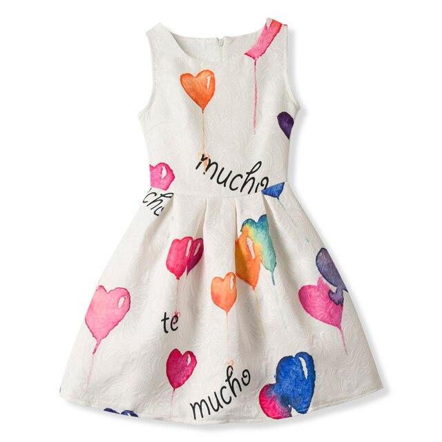 6dce7f976 Summer Floral Frock Design Princess Girl Dress For Girl Dresses Kids ...