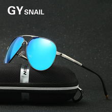 GYSnail new arrive Pilot Fashion Classic Aviation Sunglasses Men Polarized Brand Designer Magnesium Aluminum Sun glasses UV400
