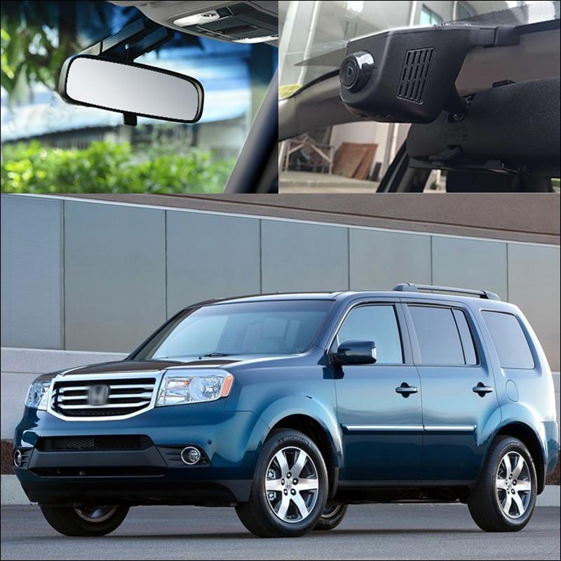 BigBigRoad For Honda Pilot 2012 ELSION XR V XRV spirior STEPWGN Ridgeline Car Wifi DVR Video
