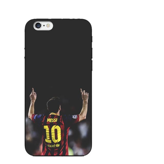 Barcelona Soccer Stars Messi Neymar Suarez Phone Case iPhone X 8 7 6 6S Plus 5 5S SE