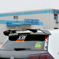 Revozport Style Carbon Car Roof Spoiler Wing Use For Volkswagen VW Golf MK7 VII Golf7 GTI With R Only
