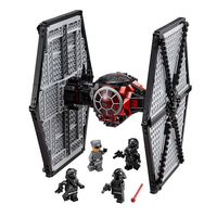 05005 Star Wars Toys First Order Tie TIE Fighter Model Compatible Legoings 75101 Building Block Funny Bricks Set For Kid Gift