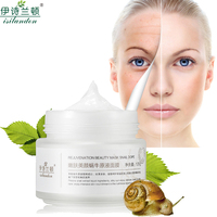 Snail Serum Face Sleeping Mask Repair Skin Hydrating Moisturizing Instantly Ageless Anti Aging Anti Wrinkle Moist Care Whitening