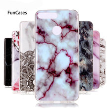 honor 7C Case on For Coque Huawei honor 7C AUM-L41 case 5.7 inch Marble Stone Soft TPU Back Cover For Huawei Honor 7C Phone Case(China)