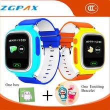 Cartoon-watch montre connecter smartwatch wearable devices smart watch gps tracker for kids waterproof smartphone wifi gsm sos