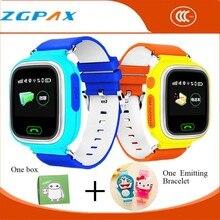 Cartoon-uhr montre connecter smartwatch tragbare geräte smart uhr gps-verfolger für kinder wasserdichte smartphone wifi gsm sos