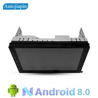 Android 8.1 7 inches 2din 1024x600 GPS Navigation GPS+Wifi+Bluetooth+Radio+Quad Core car Multimedia player android seat