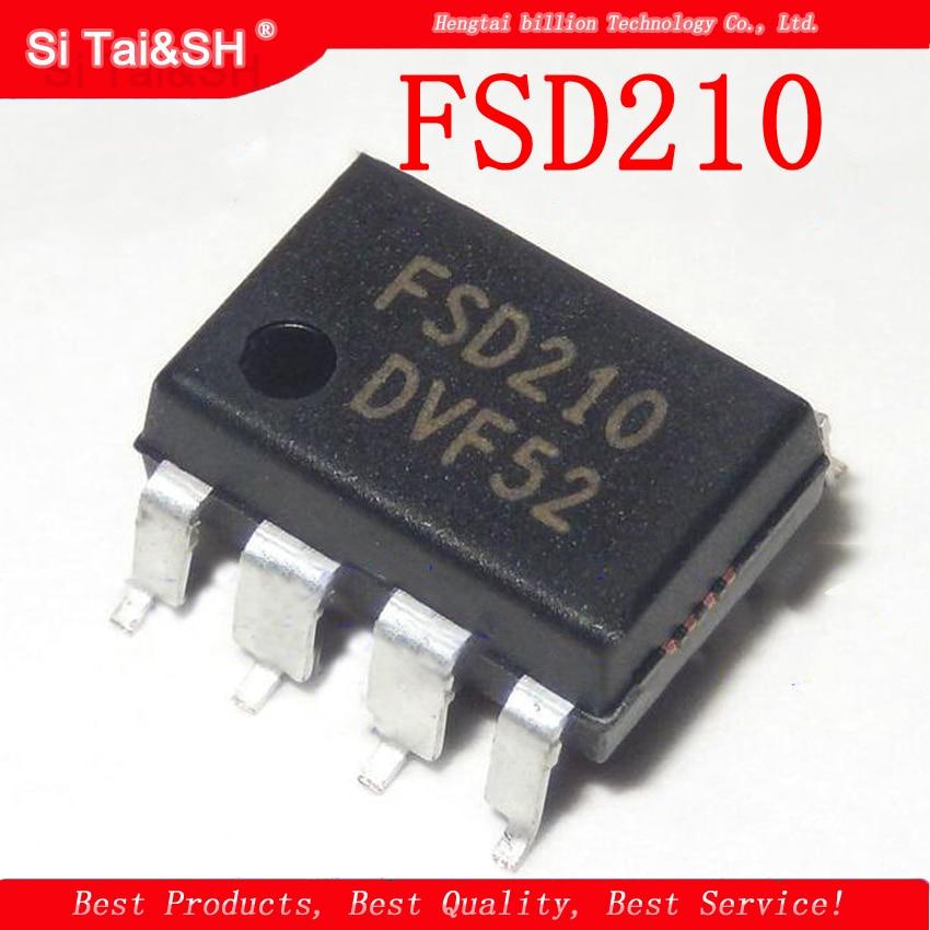 10pcs/lot FSD210 210 SMD-7 Power Management Chip
