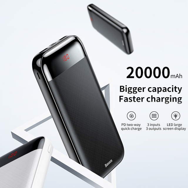 20000 mAh Quick Charging Power Bank