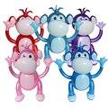 5 unids/set pequeño mono para niños inflable toys toys balloon fiesta de cumpleaños favor niño volar globos de juguete fabricante de ruido