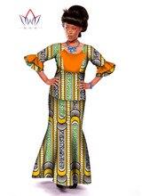 Autumn New Women Set 2016 African Women Designs Dashiki Dress 2 Piece Set Women Half Sleeve Mermaid Dress Plus Size 6XL WY045