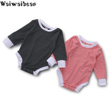 Hot Sale Baby Rompers Long-Sleeved Cotton Newborn Infant  Clothes Jumpsuit Clothing For Boys And Girls