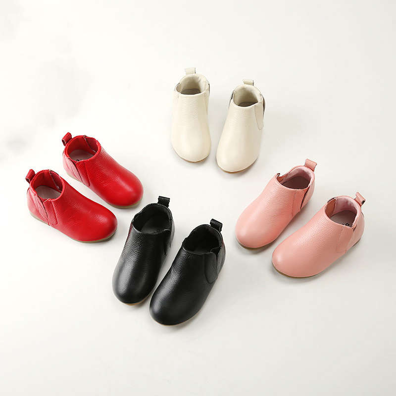 Jufoyu Genuine Leather Shoes For Girls 2019 New Hot Sale Children s Princess Party Boots Female