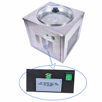 Ice Cream Maker, Ice Machine Professional Fry Machine, Single Round Pan Fried Yogurt, Drink, Ice Cream CB 340A