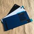 Genuíno z2 traseira tampa traseira de vidro habitação para sony xperia z2 L50W D6503 Tampa Da Bateria Da Caixa Com NFC + logotipo + Reparação ferramenta