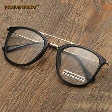 Большие очки с двойным мостом классические трендовые оптическими
