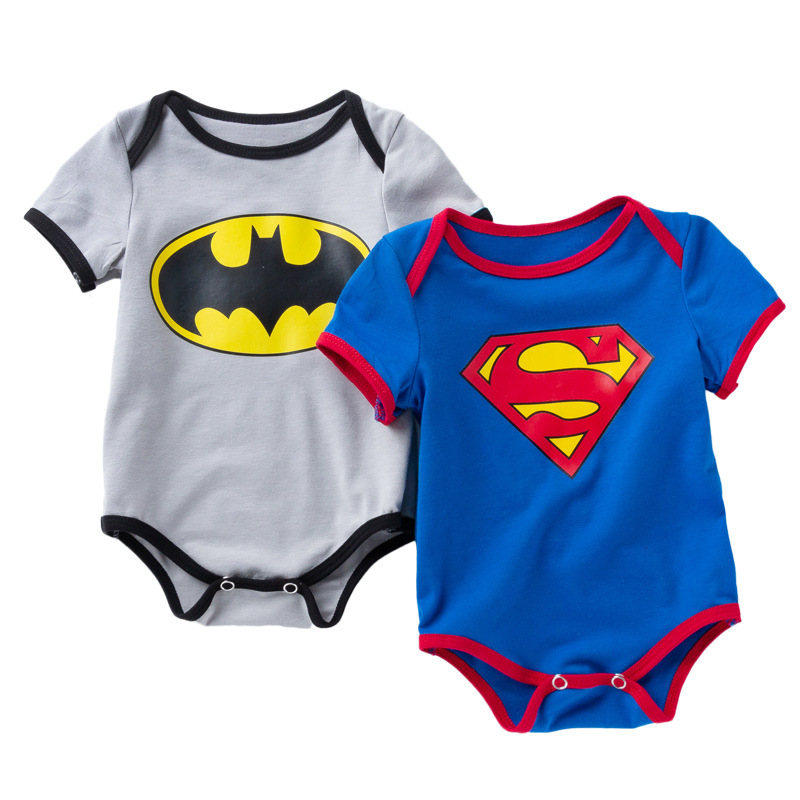 <font><b>Body</b></font> For Newborn Babys Superman Romper Newborn Twins <font><b>Baby</b></font> Bodysuits Batman <font><b>Body</b></font> <font><b>Baby</b></font> Infant-clothing image