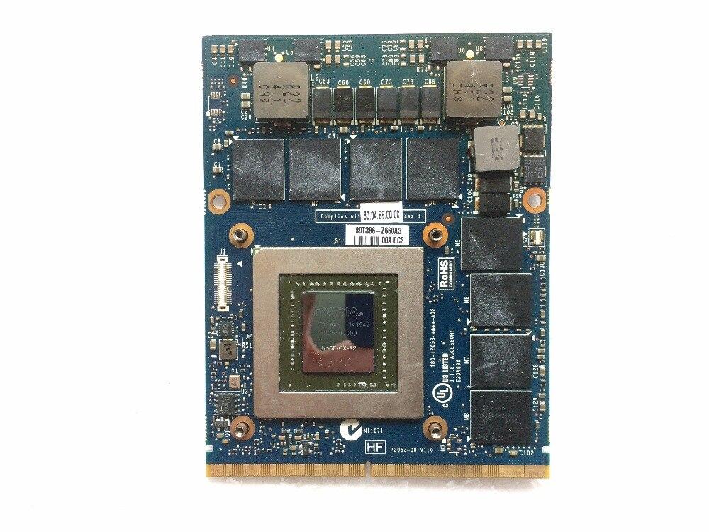 GTX 880M 8GB GDDR5 MXM 3 0b N15E GX Card JH9PP 0JH9PP CN 0JH9PP for Alienware