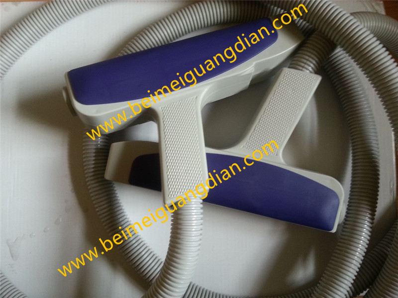 Laser handle ipl handle beauty machine part OPT handle for hair removal with factory price 3 tips