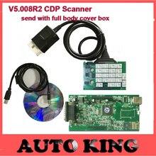 2016 El Más Nuevo Para El Coche y Camiones CDP V5.008 de diagnosis herramienta Fuerte cdp TCS CDP pro plus nuevo vci Sin Bluetooth