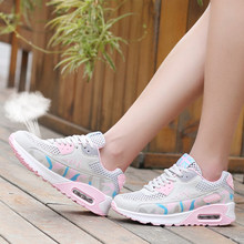 Shoes Woman Pumps breathable air cushioned shoes female girl Women Shoes lady brand elevator Casual female Pumps shoes