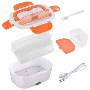 Image 2 - 220V Spina di UE per il Cibo Elettrica di Plastica di Calore Riscaldata Contenitore di Alimento Pasti Caldi Pranzo Al Sacco Portatile per la Scuola Ufficio di Riscaldamento scatola di pranzo