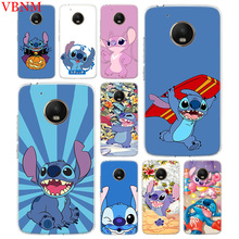 Disneys Stitchs Cute Accessories Phone Case For Motorola Moto G7 G6 G5S G5 E4 Plus G4 E5 Play X4 Pattern Customized Coque Cover
