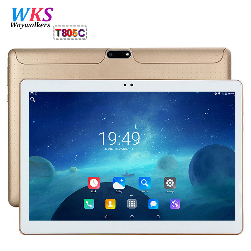 Global 10 inch tablet pc phone call octa core android 7.0 RAM 4GB ROM 64GB 1920*1200 IPS WIFI Bluetooth Smart tablets pc 10 10.1