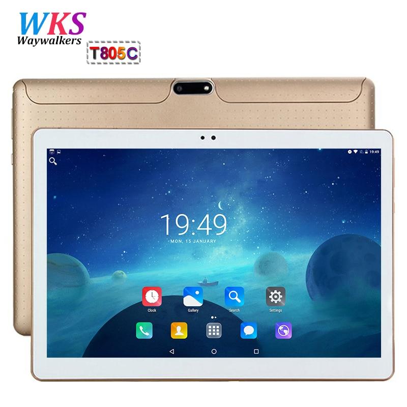 Global 10 inch tablet pc phone call octa core android 7.0 RAM 4GB ROM 64GB 1920*1200 IPS WIFI Bluetooth Smart tablets pc 10 10.1 2018 new 10 1inch tablet pc android 7 0 4 gb ram 32gb rom cortex a7 octa core camera 5 0mp wi fi ips telefoon tabletten pc