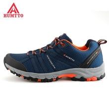 HUMTTO Senderismo Men's Mesh Outdoor Trekking Hiking Shoes Sneakers For Men Sports Climbing Mountain Trail Shoes Man 39-44#